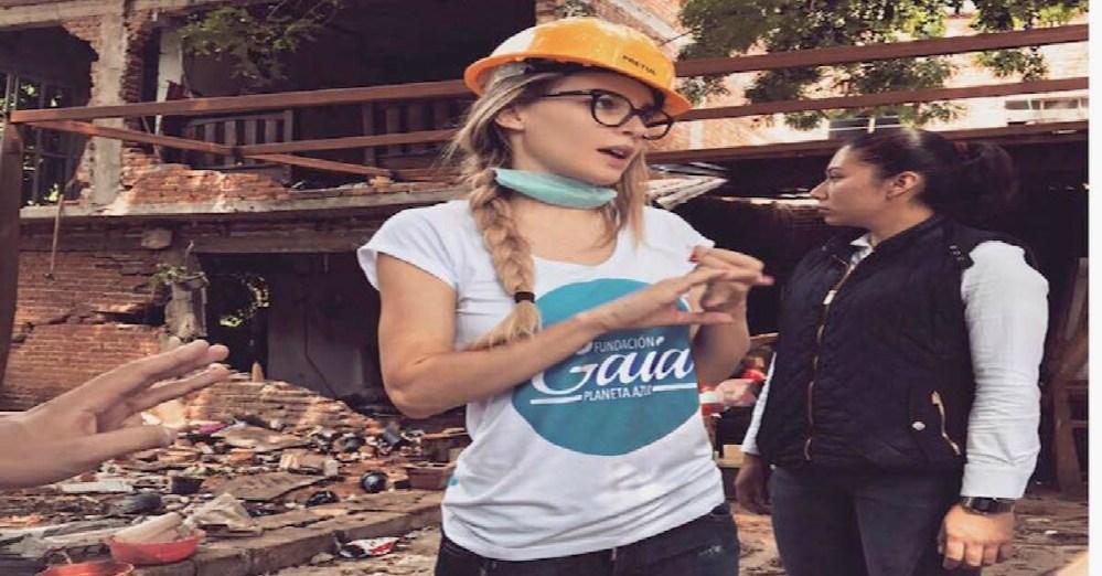 """Belinda denuncia que """"desapareció"""" camión con víveres"""