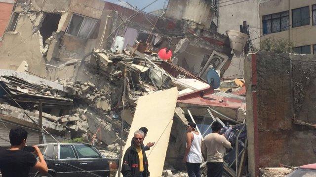 Así se vivió el sismo en Ciudad de México en 2017
