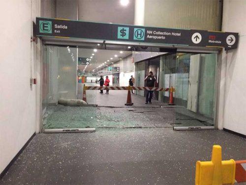 Terminal 2, Aeropuerto, Temblor, Sismo, Terremoto, Daños