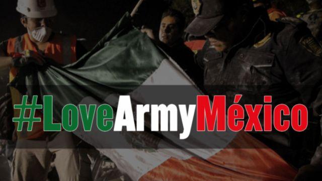 Con #LoveArmyMéxico Juanpa Zurita pide donar a México