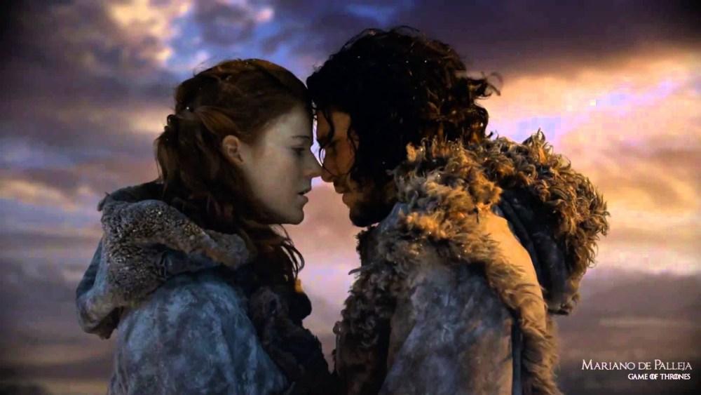 Jon Snow se compromete con Ygritte