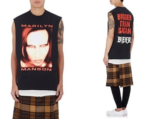 Playera de Fear of God de Manson y Bieber
