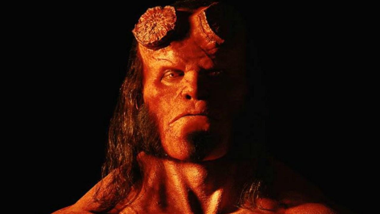 David Harbour, Mike Mignola, Blood Queen, Hellboy, Película, Fotografía