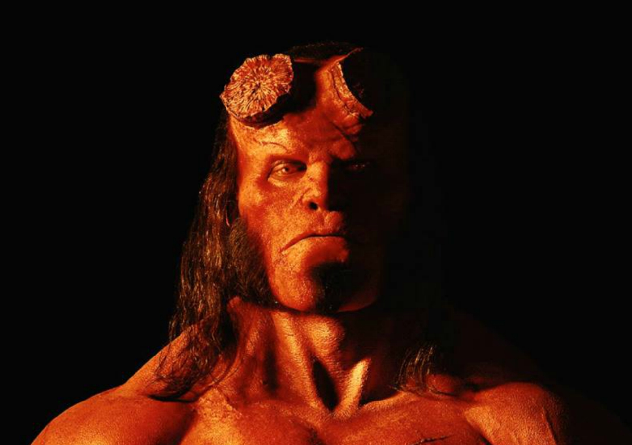 David Harbour, Mike Mignola, Blood Queen, Hellboy, Película, Fotografía