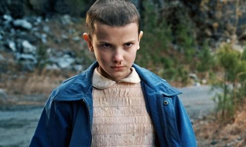 Millie bobby Brown como Eleven en Stranger Things