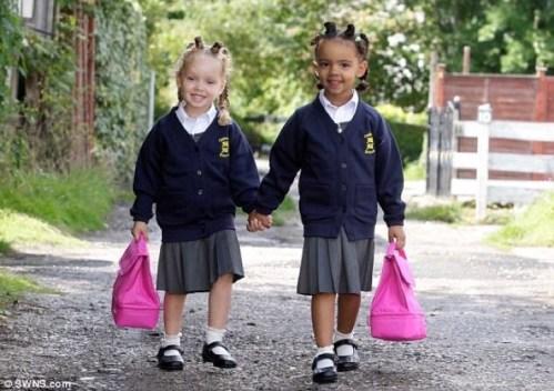 gemelas biggs escuela