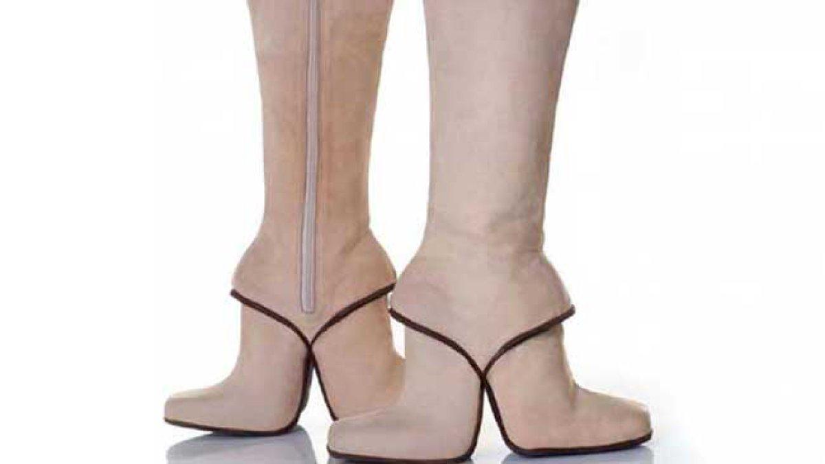 Los zapatos que ni en sueños vas a querer usar