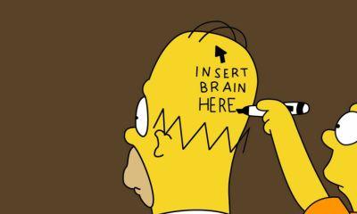 Homero sin cerebro