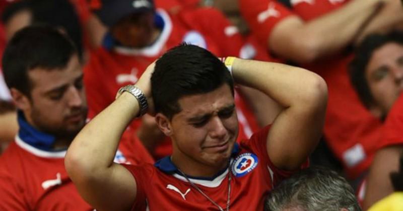 Periodista lamenta la goleada que Chile le propinó a México