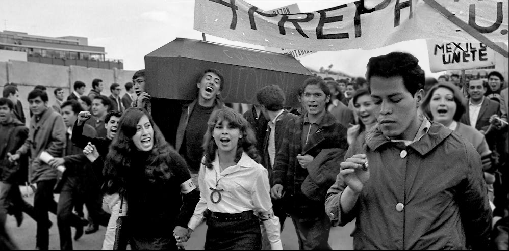 Las fotos nunca antes vistas del movimiento del 68