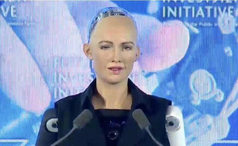 Sophia primer robot ciudadana de un país