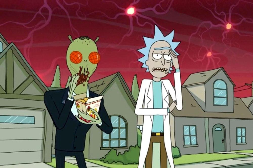 Fans de Rick y Morty protestaron contra McDonalds por la salsa Szechuan