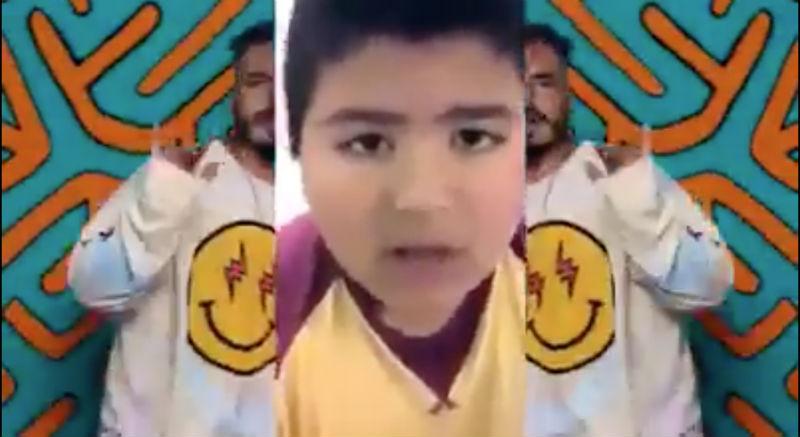 Niño del silbato remix con Balvin Mi gente