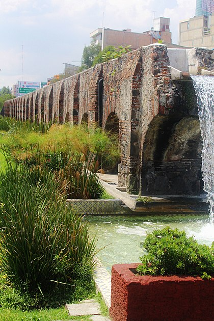 acueducto, chapultepec, nezahualcoyotl