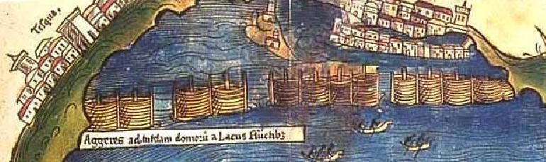 Dique_Nezahualcóyotl_primer_mapa_de_Tenochtitlan