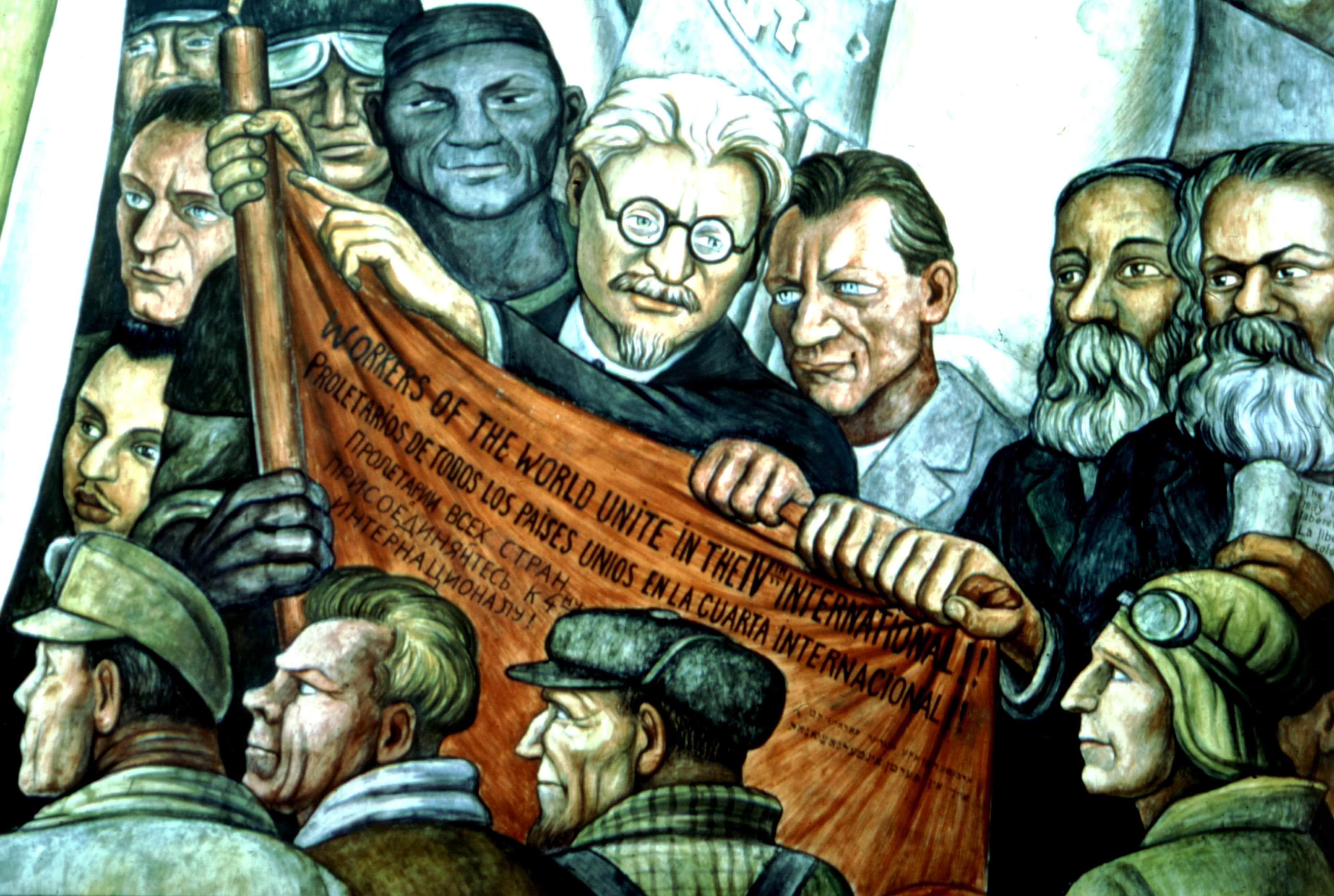 Fresco de Diego Rivera