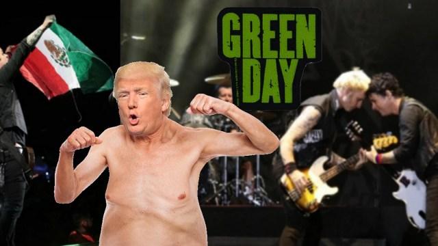 Corona Capital, Green Day, Donald Trump, Viva México, Concierto, Trump