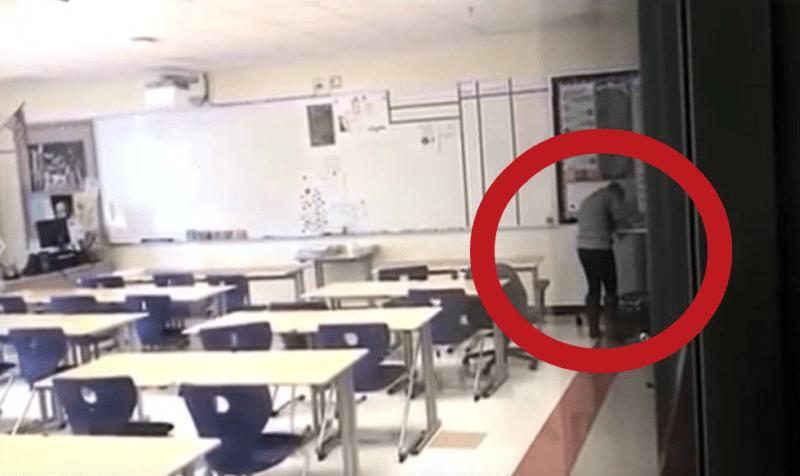 Maestra es captada en video consumiendo cocaína