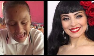 Julia Maritza, niña ciega y autista, enamoró cantando como Mon Laferte