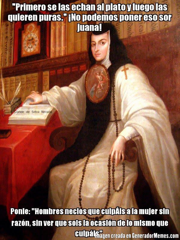 Memes de Sor Juana