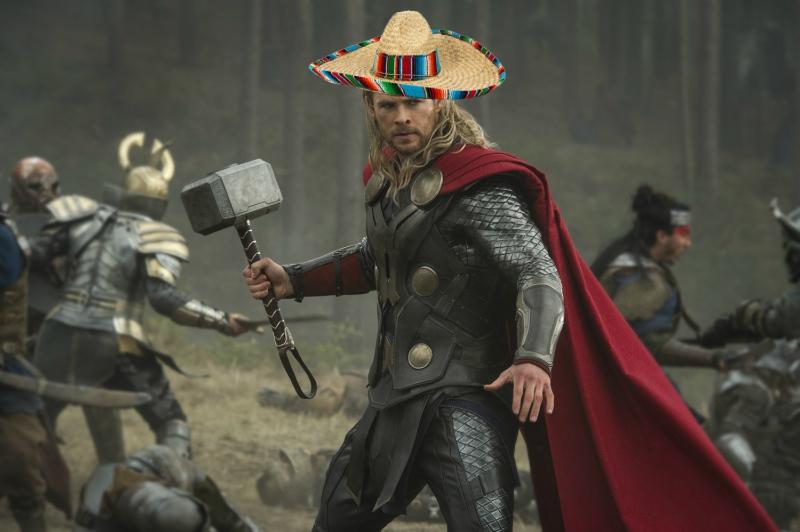 Chris Hemsworth, Diageo Rebuilds, Thor, CDMX, México, Temblor