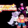 Steven Universe, con Garnet, Amethyst y Pearl