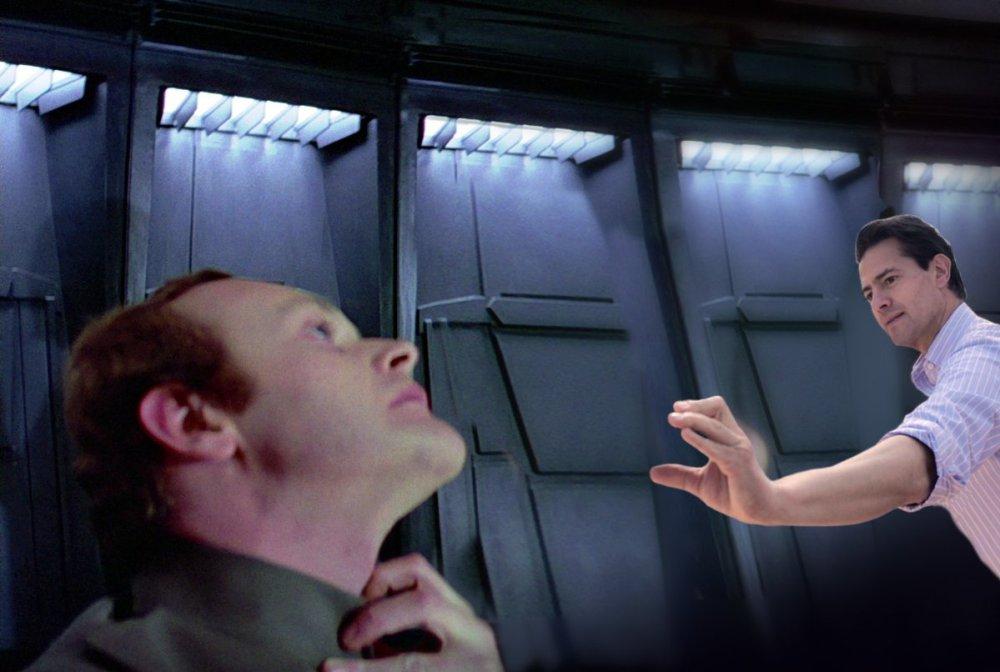 Enrique Peña Nieto como Darth Vader