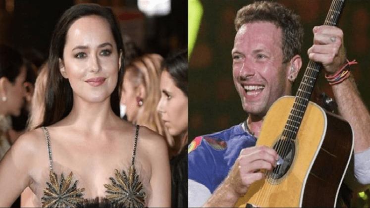 Chris Martin y Dakota Johnson ¿son novios?