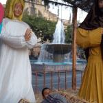 """Niño Dios """"gigante"""" amanece en un nacimiento de Guadalajara"""