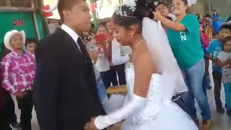 La boda más triste de México rompe corazones en Internet