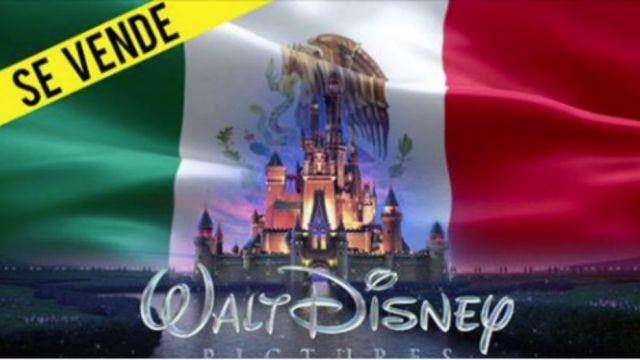 Convocan a marcha para que Disney compre México