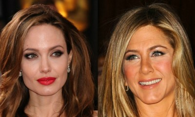 Angelina Jolie, Jennifer Aniston, 2018, Golden Globes