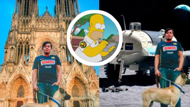 América fotomontaje memes twitter Águilas