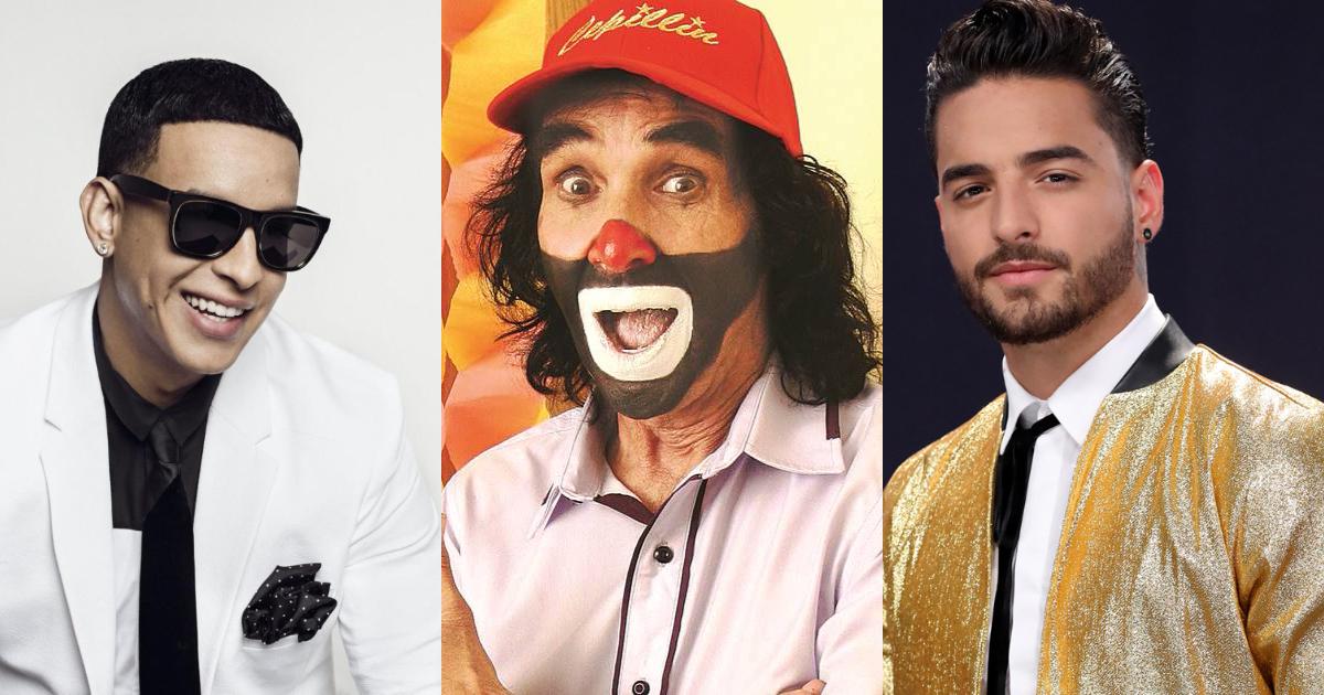 Cepillín está interesado en hacer dueto con Daddy Yankee o Maluma