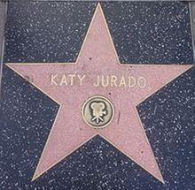 Estrella de Katy Jurado en el Paseo de la Fama