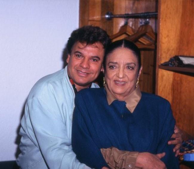 Juan Gabriel y Katy Jurado