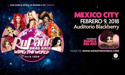 Por esto nos emociona el tour de RuPaul's Drag Race en México
