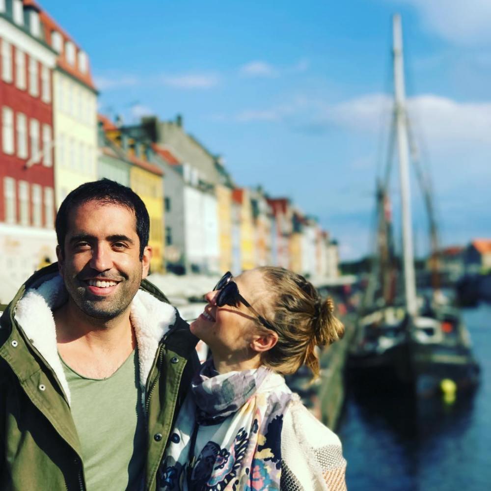 Los actores Ana Layevska y Rodrigo Moreira