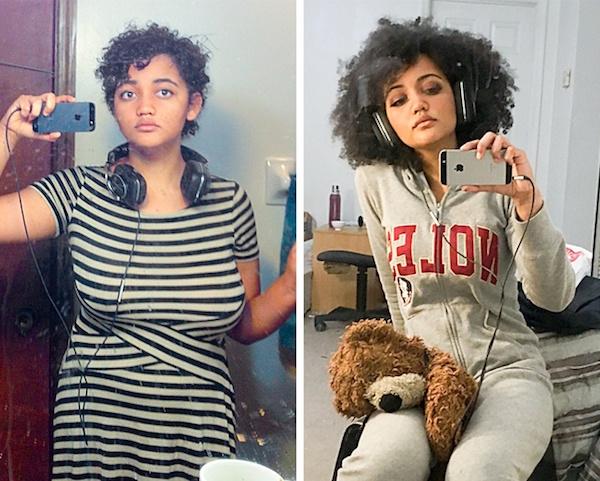 El antes y después de personas que decidieron cambiar su vida