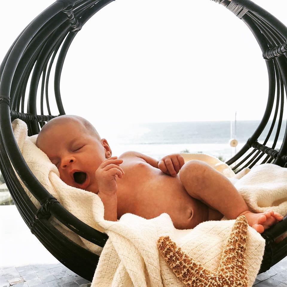 Masha Moreira Laevski, bebé de Ana Layevska y Rodrigo Moreira