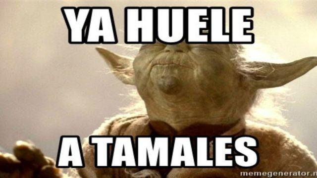 Los mejores memes de tamales en la candelaria