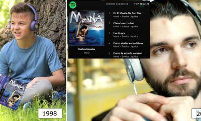Spotify dice que nuestro gusto musical se define a los 14