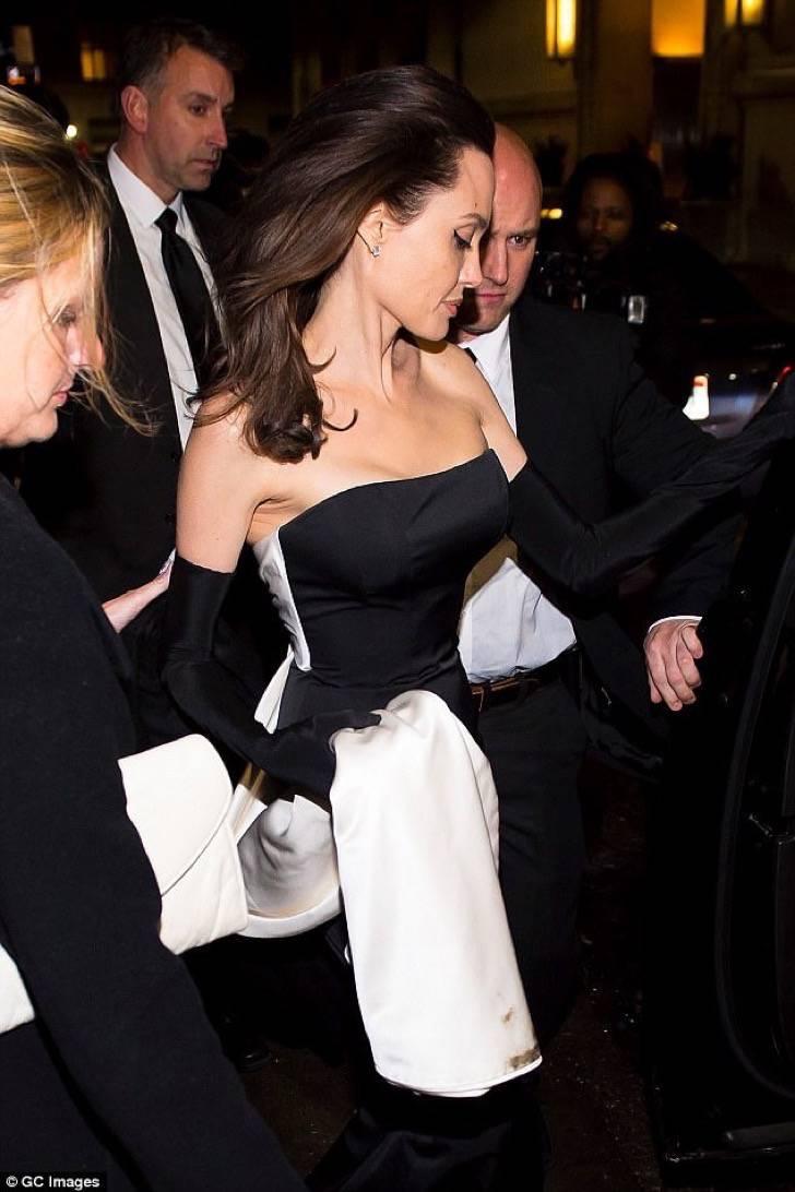 Angelina Jolie en la gala de la ONU