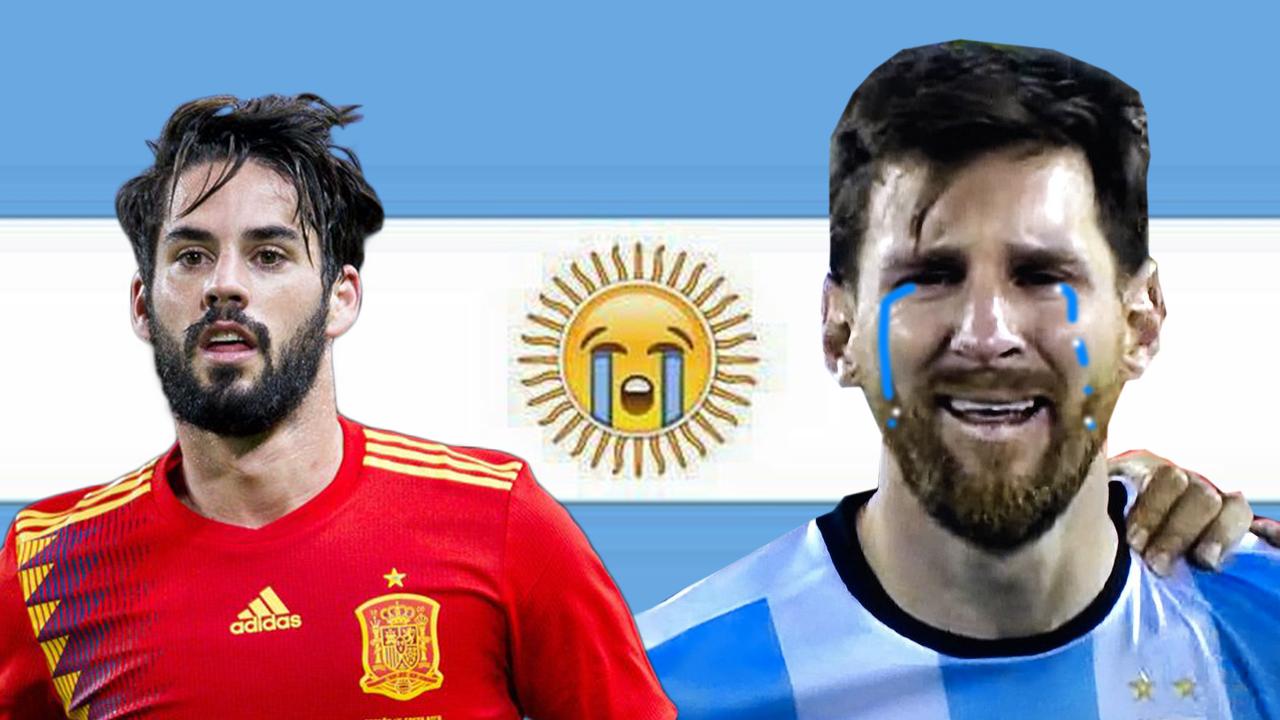 Argentina Espana Memes Goleada Fifa 6 1 Paliza 1