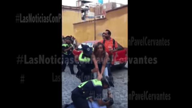 San-Miguel-Allende-Fernanda-Familiar-Abuso-Policial-Conductora-Televisión