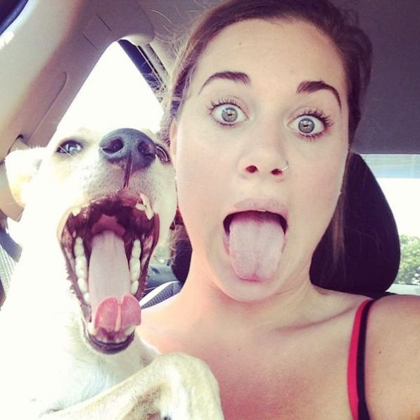Fotos adorables de personas imitando a sus mascotas