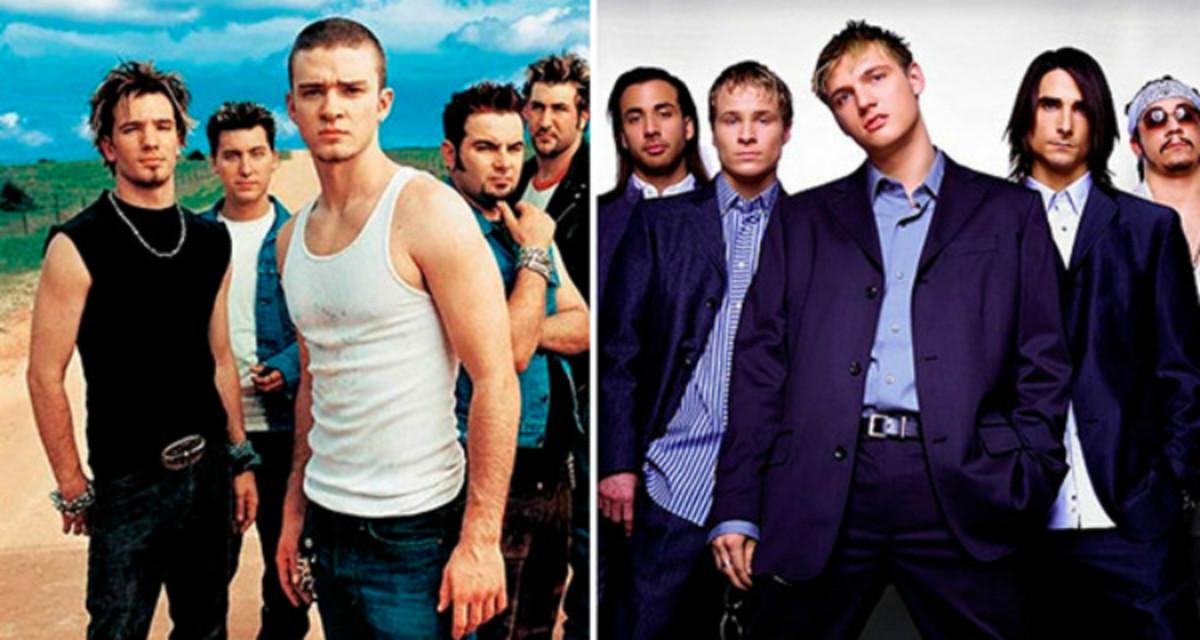 Backstreet Boys y Nsync