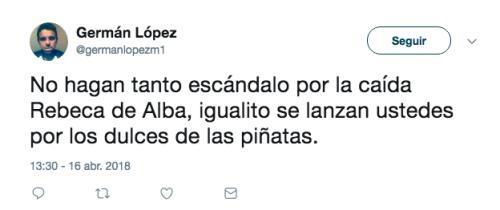 Rebeca de Alba protagoniza tremenda caida en Mexicana Universal