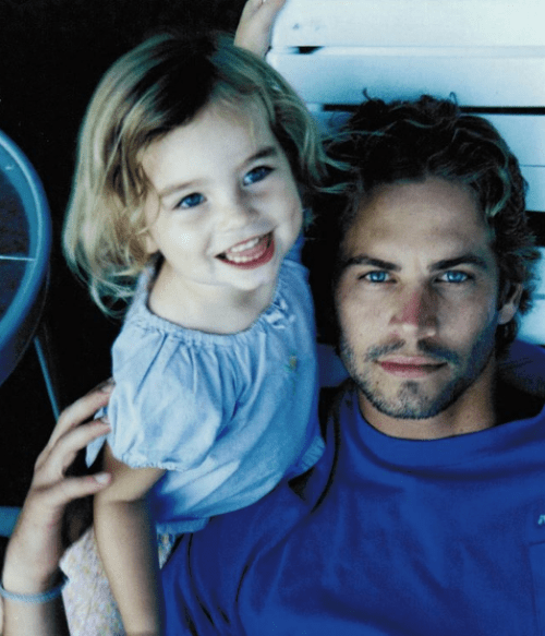 La hija de Paul Walker es un encanto.