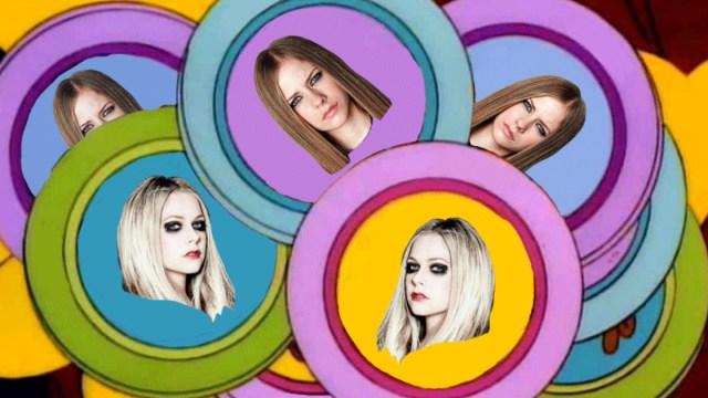 Avril Lavigne volvió con sorprendente look